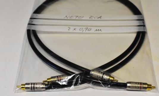 Cable de audio rca de muy alta gama