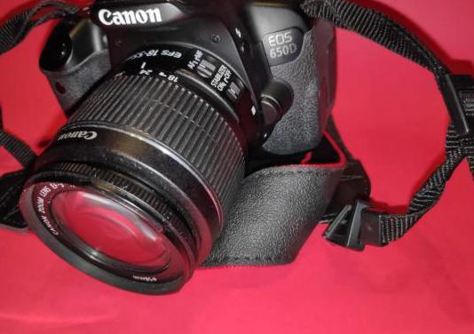Camara canon eos 650d