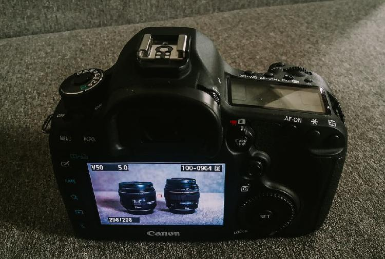 Camara fotos canon 5d mark iii como nueva