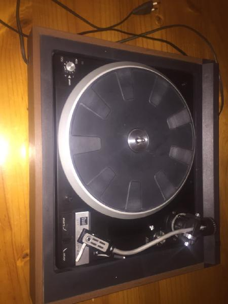 Cambio tocadiscos dual 1235
