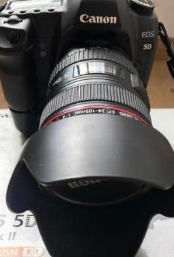 Canon eos 5d mark ii canon 24-105 ew-83h