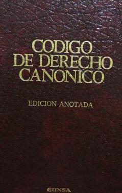 Código de derecho canónico