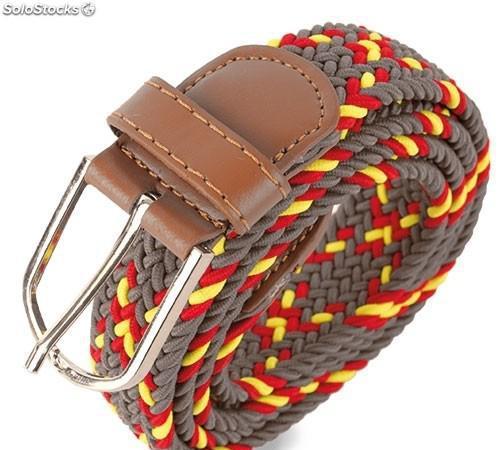 Cinturon elastico bandera
