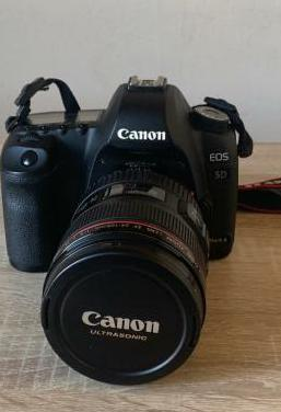 Cámara de fotos Canon 5D mark II