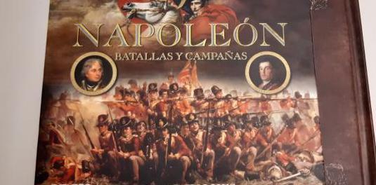 Colección napoleón batallas r.holmes