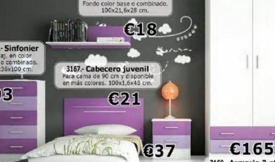 Completa tu dormitorio juvenil