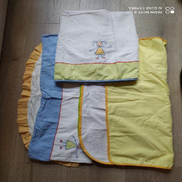 Conjunto arrullos más toalla bebé