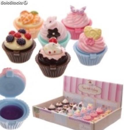 Cupcake brillo labial