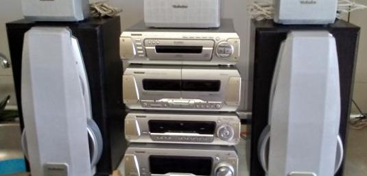 Equipo de sonido technics -eh780 hifi
