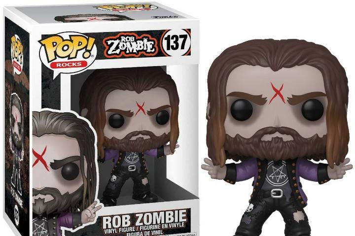 Figura funko pop rocks rob zombie nuevo