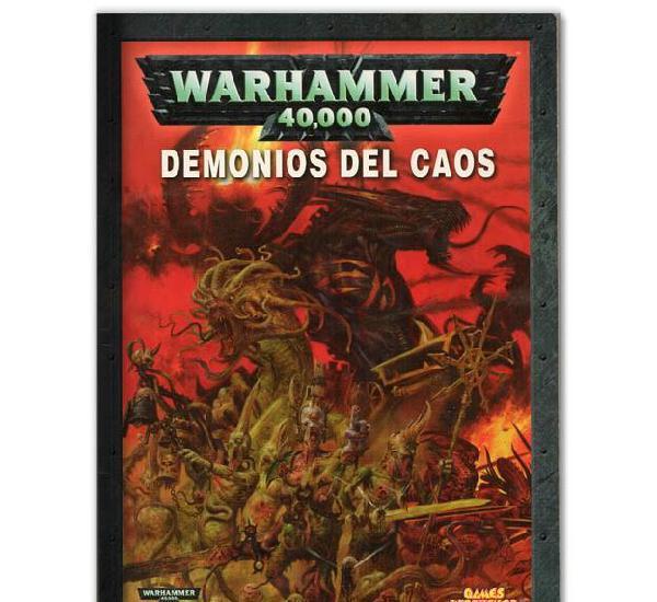 Guia de juego warhammer 40.000 demonios del caos