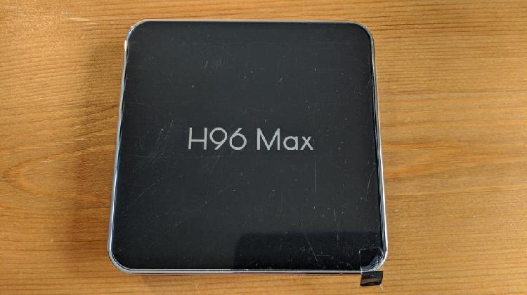H96 max x2 android tv box nuevo