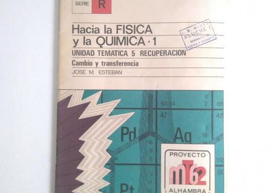Hacia la física y la química 1