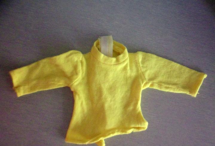 Jersey / sueter amarillo de nancy años 70