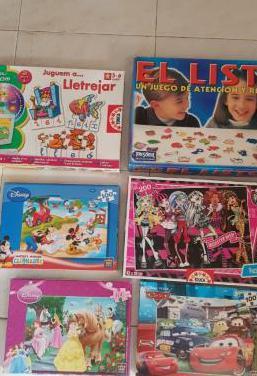 Juegos y libros infantiles...