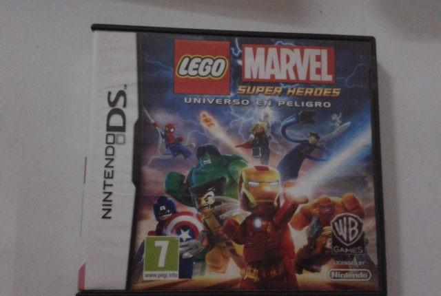 Lego marvel super heroes universo en peligro. nintendo ds