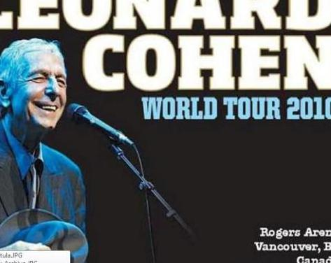 Leonard cohen - rogers arena, vancouver, 2010 (3cd