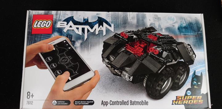 Lego 76112 batman app controlled batmovile