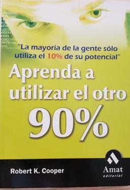 Libro aprenda a utilizar el otro 90 % cooper