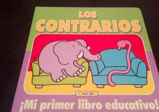 Libro educativo los contrarios