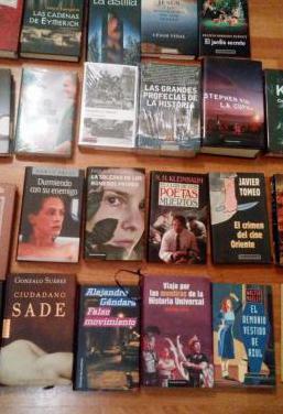 Libros. fantasia, ensayo, deportes,.. parte 1 de 4
