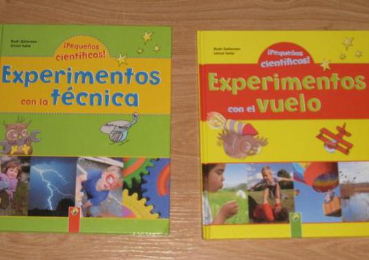 Libros pequeños científicos