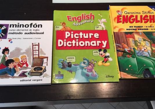 Lote de libros inglés infantil