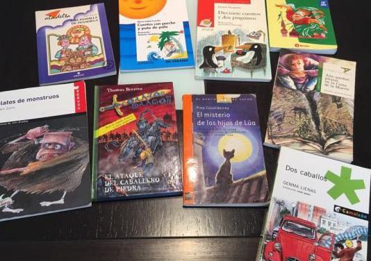 Lote de libros lectura juvenil