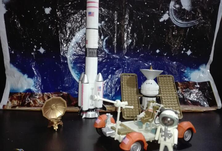 Material tema espacio o conquista de la luna