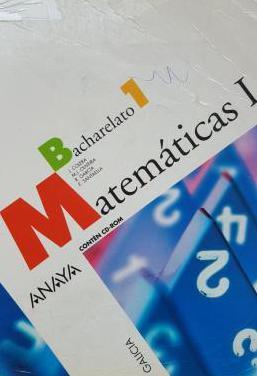 Matemáticas i, 1º bachillerato