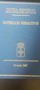 Materiales normativos principado de asturias