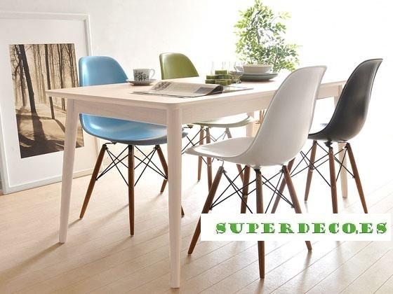 Mesa manchester, madera haya, estilo rustico
