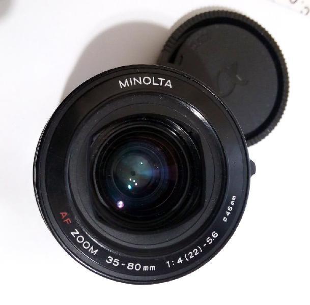 Minolta af 35-80 f4 - 5.6 ø46mm