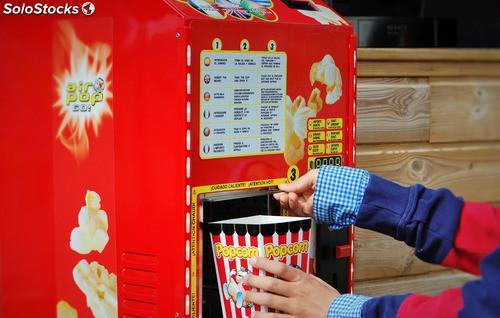 Máquina de palomitas: gran reclamo para su negocio con 400%
