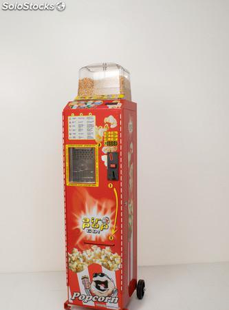 Máquina vending de palomitas, muy rentable y llamativa,
