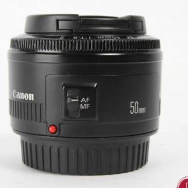 Objetivo canon ef 50mm f/1.8 ii e336847