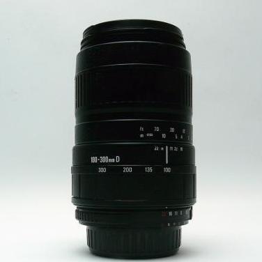 Objetivo para nikon 100-300mm f4.5-6.7 d mc