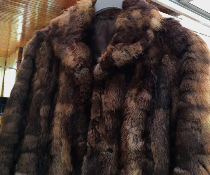 Ocasión: chaquetón piel