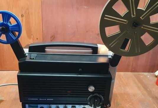 Proyector super 8 chinon sound 8500