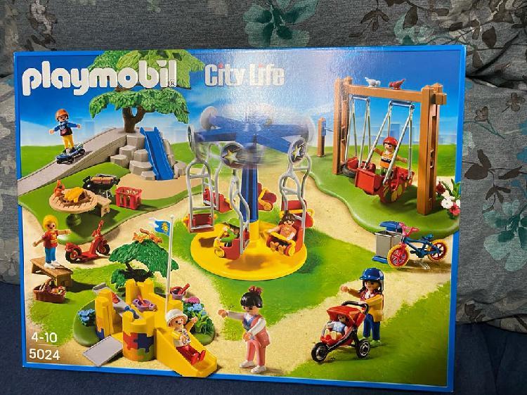Parque infantil playmobil 5024 nuevo sin estrenar