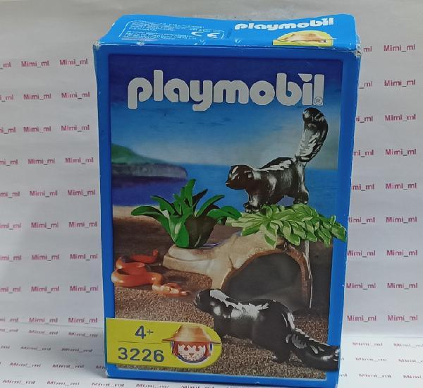 Playmobil 3226 caja madriguera animales diorama bosque