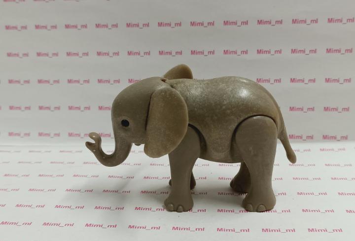 Playmobil elefante cría bebé animales zoo circo safari