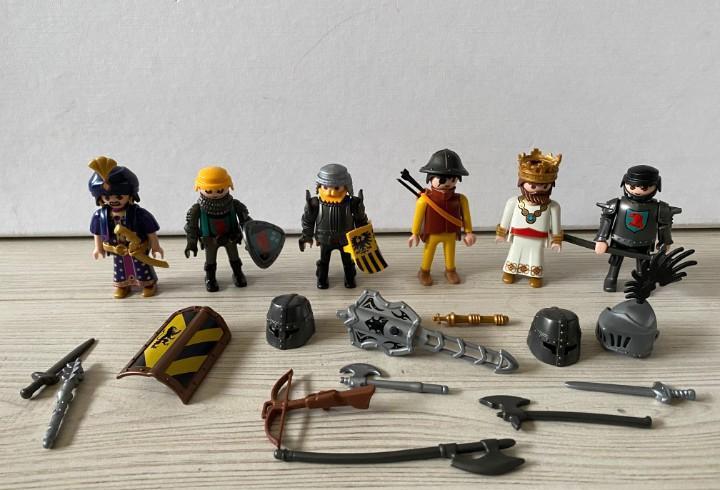 Playmobil set de 6 figuras descatalogadas