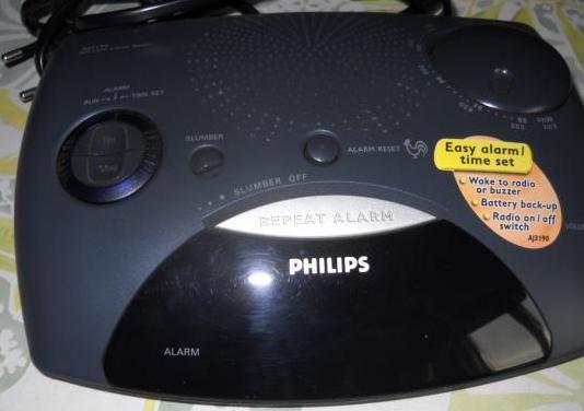 Radio despertador philips