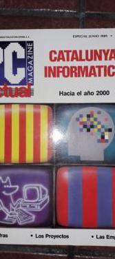 Revista pc actual especial catalunya '89