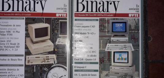 Revista informática binary nº 1-2 '88