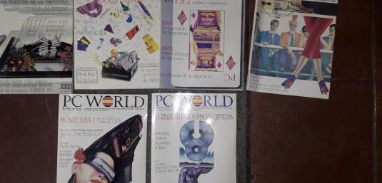 Revista informática pc world 1987