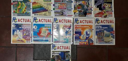 Revista informática vintage pc actual 1992