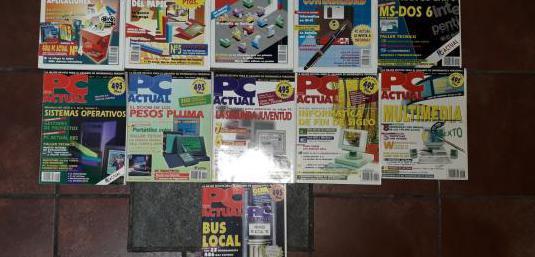 Revista informática vintage pc actual 1993