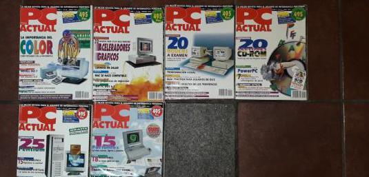 Revista informática vintage pc actual 1994